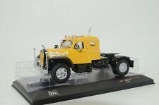RARE !! Mack B61 truck With Sleeper Yellow Custom Made 1/43