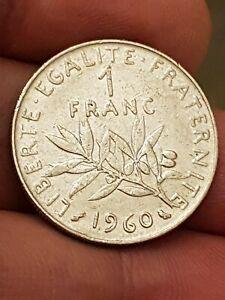 COIN / FRANCE / 1 FRANC 1960 Kayihan coins auction -1