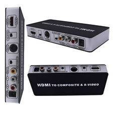 HDMI to AV+SVIDEO NK-10S Composite/S-Video CVBS PAL/NTSC Converter Universal