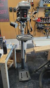 PORTER-CABLE 8-Amp 12-Speed Floor Drill Press #PCB660DP