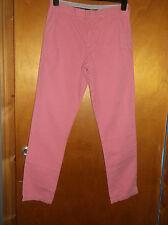"Tommy Hilfiger 100%Cotton Straight Leg Jeans W30"" L32"" Salmon BNWoT"