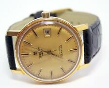 Tissot Gold Plated Case Wristwatches