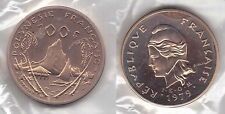 FRENCH POLYNESIA - EXTREMELY RARE PIEDFORT 100 FRANCS UNC COIN 1979 YEAR P28