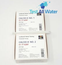 Lovibond Calico H - Calcium Hardness Tablets - No 1 & 2 - 250 tablet boxes