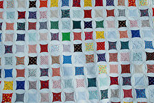 CATHEDRAL WINDOW QUILT INSTRUCTIONS - CLASSIC -