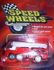 Speed Wheels Series XI Ladder Fire Truck Item # 834393