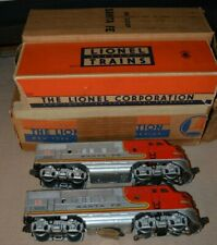 Vintage Early Postwar F3 Lionel 2333 Santa Fe Master Carton Boxes Instruct 1949