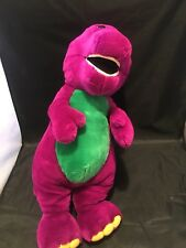 Barney Dinosaur Friends Soft Love Doll Toy Stuffed Lyons 22 Inches Purple Plush