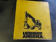 Liebherr America R925 Workshop Manual