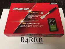 "NEW BONUS DEAL Snap-on Tools USA 1/4"" Drive GREEN Ratchet LED LIGHT SET THL72"