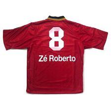 🔥Ze Roberto #8🔥1998/00 Bayer 04 Leverkusen Home Football Shirt Adidas - Size L