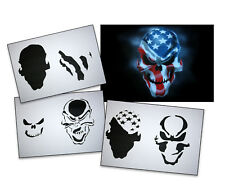 Step by Step Airbrush Stencil AS-062 M ~ Template ~ UMR-Design