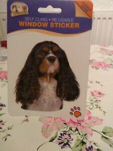 Cavalier Tri Window Sticker