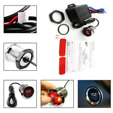 Dossy Universal Car Engine Start Red LED Push Button Switch Ignition Starter Kit