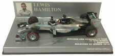 F1 1/43 MERCEDES GP W05 HAMILTON WINNER MALAYSIAN GP CHAMPION 2014 MINICHAMPS
