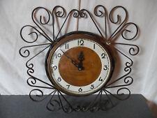Vintage Pendule horloge Carrez Transistor