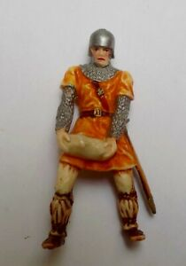 Norman Stone Carrying Knight 8836 Hausser 1960 Elastolin 7cm 70mm Medieval Siege