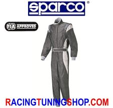 SPARCO RACING SUIT SIZE 62 X-LIGHT HC 300 GREY FIA 8856-2000 OVERALLL RALLY XL