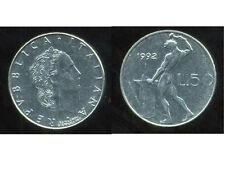 ITALIE   ITALY  50 lire  1992