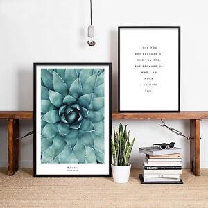 Flower Motivational Quote Canvas Poster Minimalist Wall Art Prints Home Decor