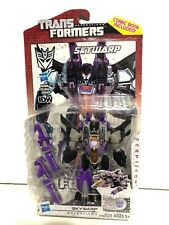 Transformers Generations Fall Of Cybertron Skywarp With Comic Book