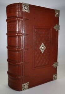 1551 1st Tome of The Paraphrases of ERASMUS on the New Testament Incomplete Rare