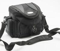 Mantona Kameratasche Fototasche camera bag universal in Schwarz black