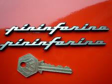 PININFARINA Self Adhesive Car BADGES Ferrari Alfa Maserati Lancia Fiat Peugeot