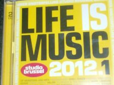 LIFE IS MUSIC 2012.1  - STUDIO BRUSSEL (2 CD) Triggerfinger, dEUS, Milow...