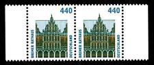 BUND SWK  440 Pf. **, Mi. 1937 (Bremer Rathaus) -  Randpaar