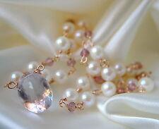 Halsketten und Anhänger aus Gelbgold mit echten Glück Edelsteinen