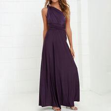 Womens Evening Dress Convertible Multi Way Wrap Bridesmaid Formal Long Dress lot