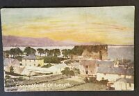 Mint Ireland County Louth Carlingford Illustrated Scenic Color Postcard