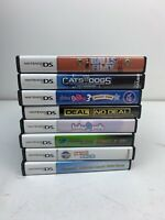 Lot Of 8 Nintendo DS Games - All Complete