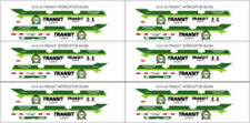 1/43 SCALE GO TRANSIT SAFETY FORD POLICE INTERCEPTOR DECALS -  NEW RELEASE!!!!