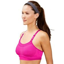 Champion Show-Off HighImpact Wire-Free Max Sports Bra 1666 1666A Pink XL X-Large