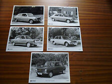 """GROUP OF 5 CHRYSLER SIMCA PRESS PHOTO  """"brochure related"""""""