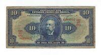 10 Mil Reis Brasilien 1936 R110c / P.39c - Brazil Banknote