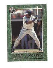 1992 FLEER ULTRA COMMEMORATIVE SERIES TONY GWYNN #S1 SAN DIEGO PADRES