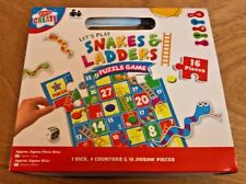 Childrens Snakes and Ladder jigsaw puzzle game size 450mm x 450mm