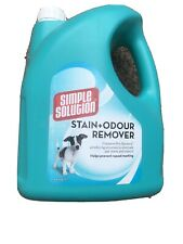 Simple Solution Dog Stain and Odour Remover | Enzymatic Cleaner with 4 Litre