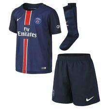 Nike Paris Saint Germain 2015/16 Home Kit Shirt Shorts Socks Kids #658720-411