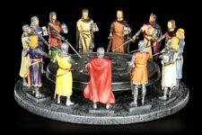 tafelrunde - Rey Arthur con 12 Caballeros - DE COLORES - Edad Media Veronese