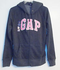 Gap Womens Full Zip Hoodie Blue/Pink Gray/Pink Gray Sizes Sm, Med, Lg & XLg NWT