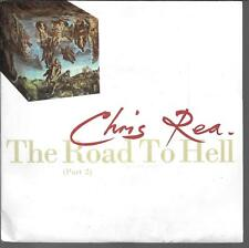 "45 TOURS / 7"" SINGLE--CHRIS REA--THE ROAD TO HELL / HE SOULD KNOW BETTER--1989"