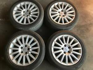 "BA BF Falcon XR XT Fairmont Fairlane alloys Rims Wheels 17"" inch set"