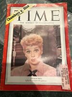 May 26, 1952 Time Magazine So Cool!! Lucille Ball Good Condition!