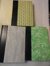 Set Of 3 Readers Digest Condensed Books Pattern Covers Decor Crafts BEST SELLERS