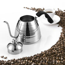 Gooseneck Kettle Pour Over Coffee Hand Drip Pot Stainless Steel Homeart 900ml【US