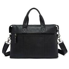 Briefcases Laptop Crossbody Bag Handbag Men's Messenger Bag Leather Shoulder Bag